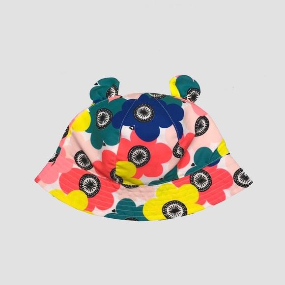 d592aeda3e6d0 Cat   Jack Flower Sun Hat w  Ears 2T-5T